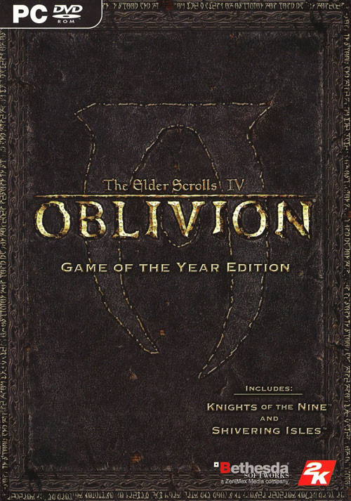 The Elder Scrolls IV: Oblivion GOTY Edition - Cover