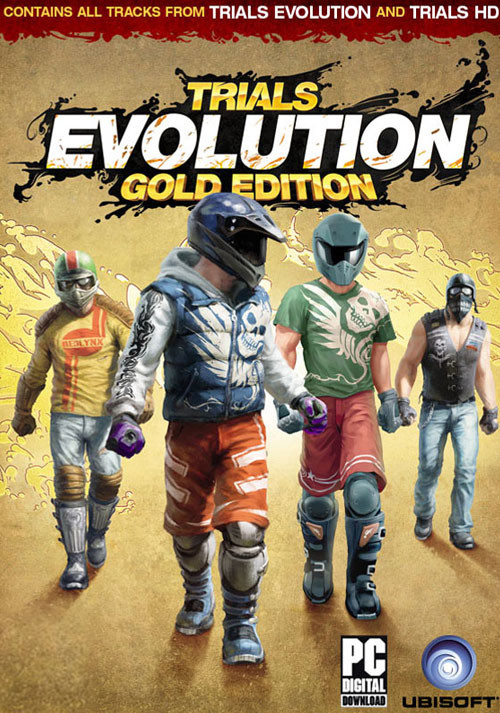 Trials Evolution Gold Edition - Cover