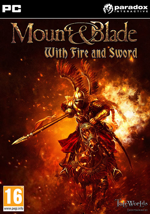 Mount & Blade: With Fire & Sword - Cover