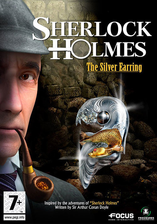 Sherlock Holmes: The Silver Earring - Cover