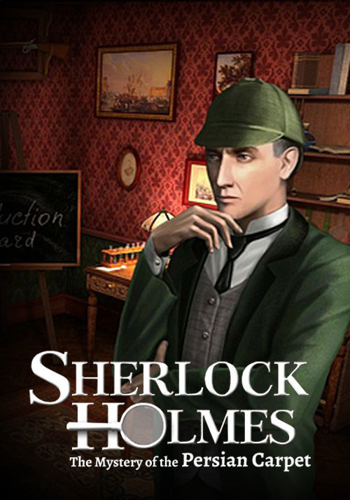 Sherlock Holmes: The Mystery of the Persian Carpet - Cover