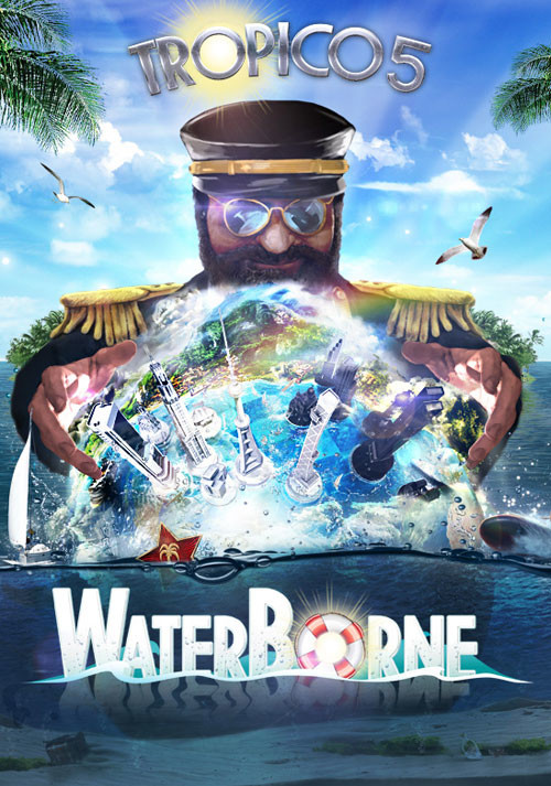 Tropico 5 – Waterborne Expansion - Cover