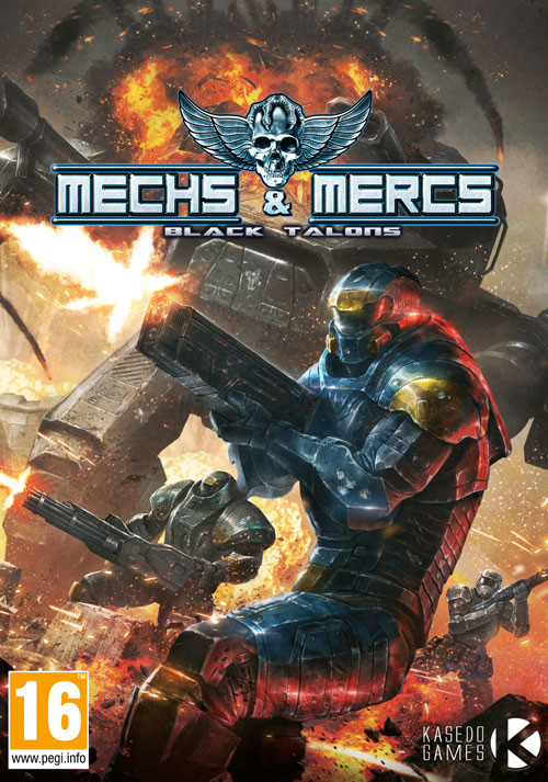 Mechs and Mercs: Black Talons - Cover