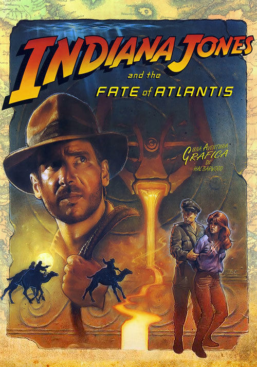 Indiana Jones and the Fate of Atlantis - Cover