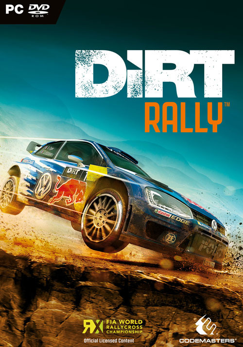 DiRT Rally - Cover