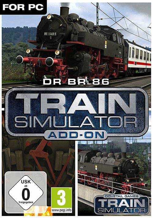 Train Simulator: DR BR 86 Loco Add-On - Cover