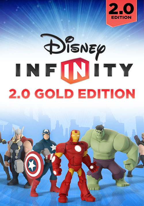 Disney Infinity 2.0: Gold Edition  - Cover