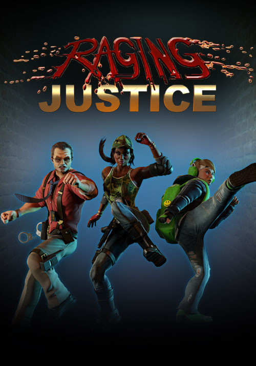 Raging Justice - Cover