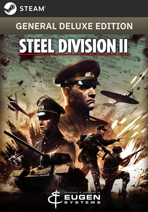 Steel Division 2 - General Deluxe Edition - Cover